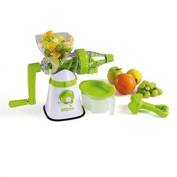 extracteur de jus de fruits l gumes et herbes manuel kitchenartist presse pur es et moulins. Black Bedroom Furniture Sets. Home Design Ideas