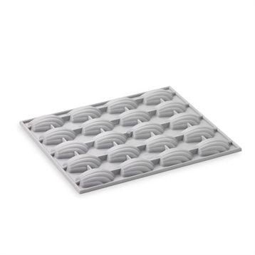 elastomoule 20 mini madeleines debuyer moules en silicone pain et p tisserie. Black Bedroom Furniture Sets. Home Design Ideas