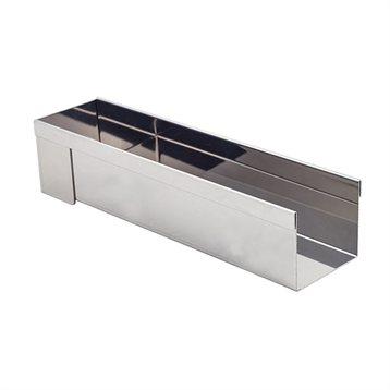 goutti re d montable en inox 30 x 8 cm de buyer de buyer moules et plaques en m tal mat riel. Black Bedroom Furniture Sets. Home Design Ideas