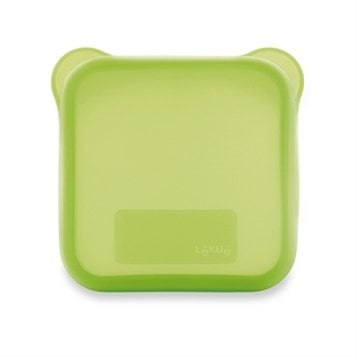 Etui  sandwich carr vert