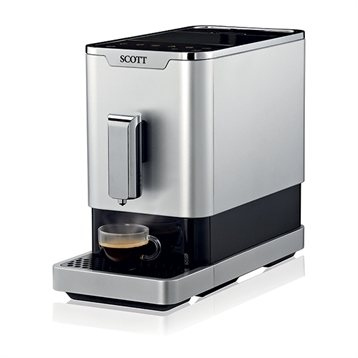 machine expresso avec broyeur grains slimissimo scott cafeti res lectriques. Black Bedroom Furniture Sets. Home Design Ideas