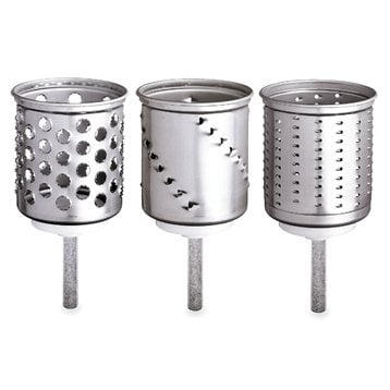 3 cylindres optionnels tranchoir râpe à cylindres pour 69€
