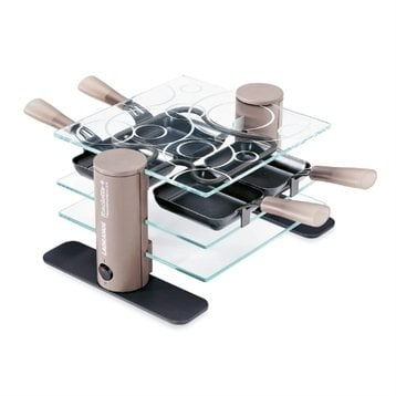 Raclette transparence 4 pers. pour 43€