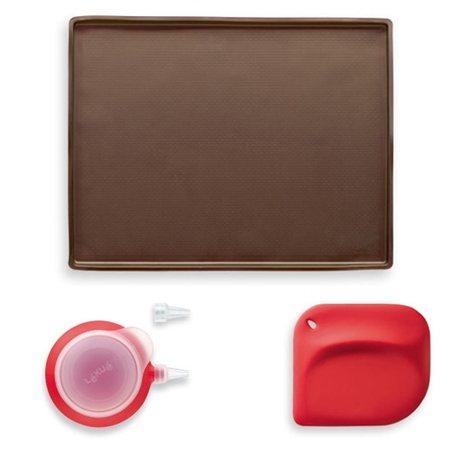 kit gateau roul lekue ustensiles de pr paration mat riel de p tisserie. Black Bedroom Furniture Sets. Home Design Ideas