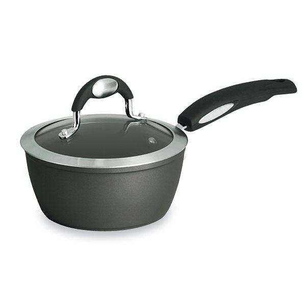 casserole avec couvercle leonardo perfecta 16 cm bialetti casseroles mat riel de cuisson. Black Bedroom Furniture Sets. Home Design Ideas