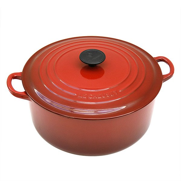 cocotte fonte rond 28 cm 6 7 l rouge le creuset cocottes. Black Bedroom Furniture Sets. Home Design Ideas