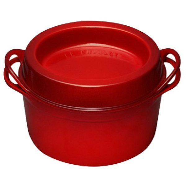 cocotte doufeu 24 cm rouge le creuset faitouts cocottes et marmites cuisson. Black Bedroom Furniture Sets. Home Design Ideas