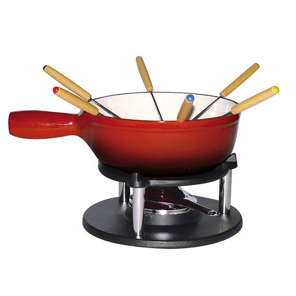 service fondue savoyarde 6 personnes en fonte fondues et r chauds mat riel de cuisson. Black Bedroom Furniture Sets. Home Design Ideas
