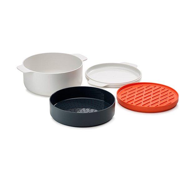 Set cuisson micro ondes 4 pi ces m cuisine joseph joseph for Soldes materiel cuisine