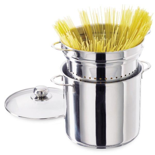 cuiseur spaghettis inox 21 cm faitouts et marmites. Black Bedroom Furniture Sets. Home Design Ideas