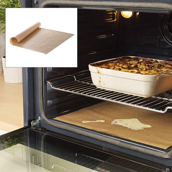 Feuille de protection pour four anti adh rente et for Materiel de cuisson pour professionnel