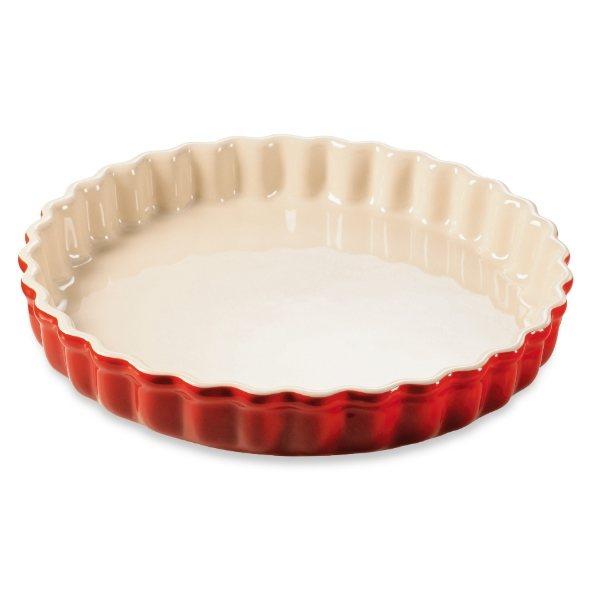 moule tarte c ramique 28 cm rouge le creuset moules et plaques p tisserie mat riel de. Black Bedroom Furniture Sets. Home Design Ideas