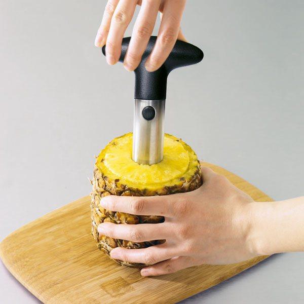 Coupe ananas mathon coupe fruits herbes et l gumes couteaux et d coupe - Conservation ananas coupe ...