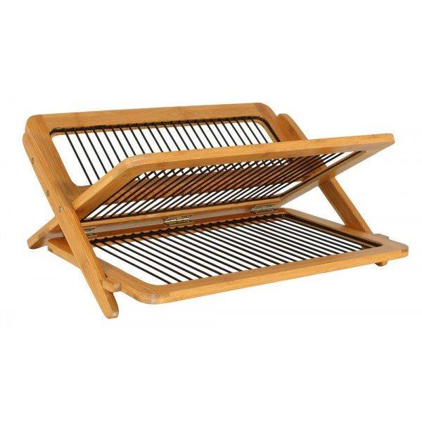 egouttoir vaisselle en bambou totally bamboo rangements et d coration de cuisine maison et. Black Bedroom Furniture Sets. Home Design Ideas