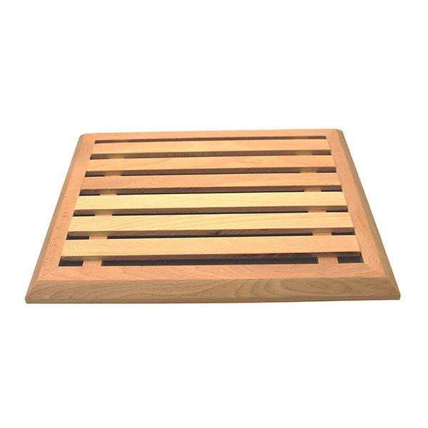 grande planche pain en h tre avec grille amovible 40 cm. Black Bedroom Furniture Sets. Home Design Ideas