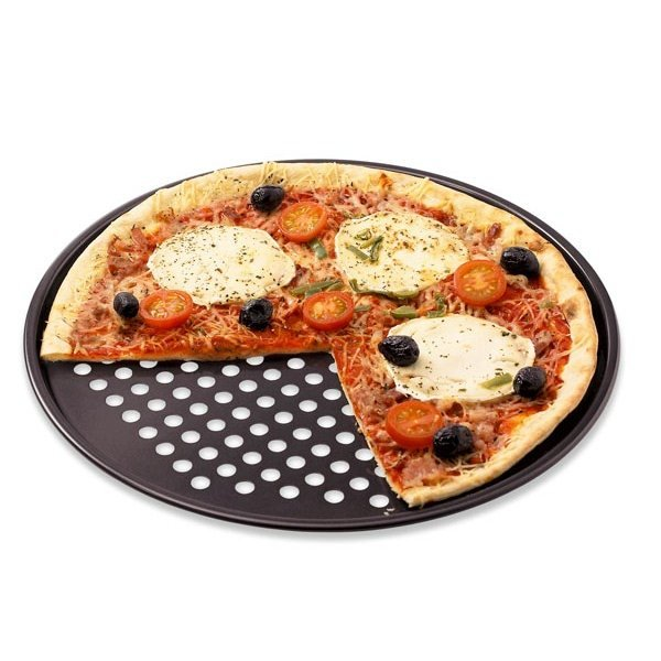 moule pizza perfor 32 5 cm plaques et grilles de cuisson cuisson. Black Bedroom Furniture Sets. Home Design Ideas