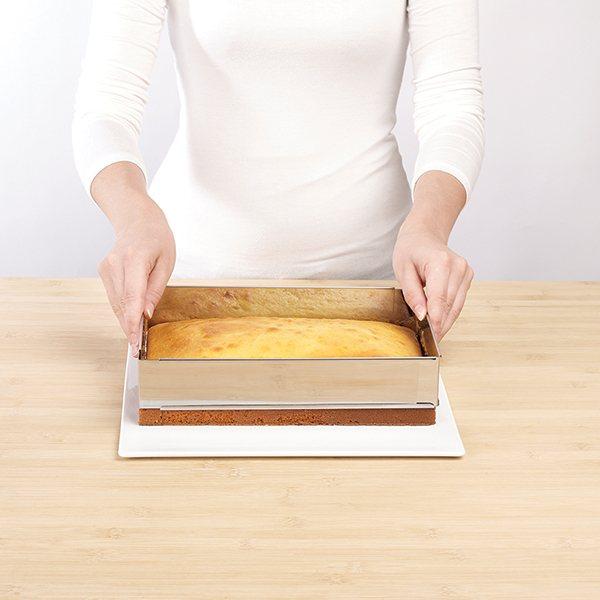 cadre rectangulaire pour gateau ustensiles de cuisine. Black Bedroom Furniture Sets. Home Design Ideas