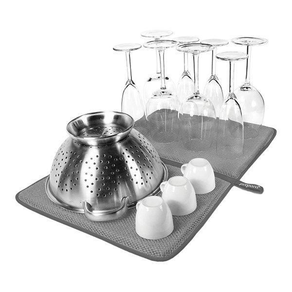 tapis de s chage anti bact rien prepar egouttoir vaisselle accessoires vier. Black Bedroom Furniture Sets. Home Design Ideas