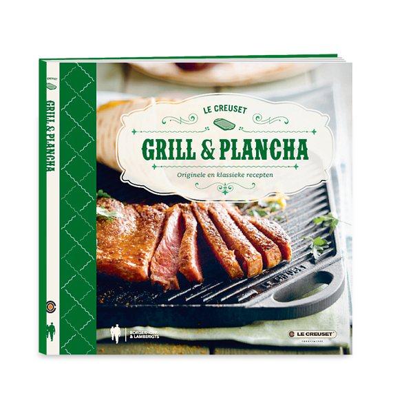 livre grill et plancha le creuset livres de cuisine art de la table et jardin. Black Bedroom Furniture Sets. Home Design Ideas