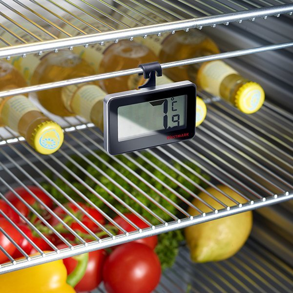 Thermom tre digital pour r frig rateur westmark for Thermometre digital cuisine
