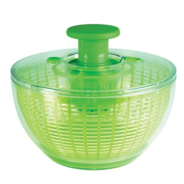 essoreuse salade piston 26 cm verte oxo essoreuses accessoires herbes et salade. Black Bedroom Furniture Sets. Home Design Ideas