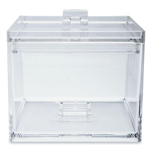 Boite de rangement petit mod le transparent zak designs - Boite rangement transparente ...