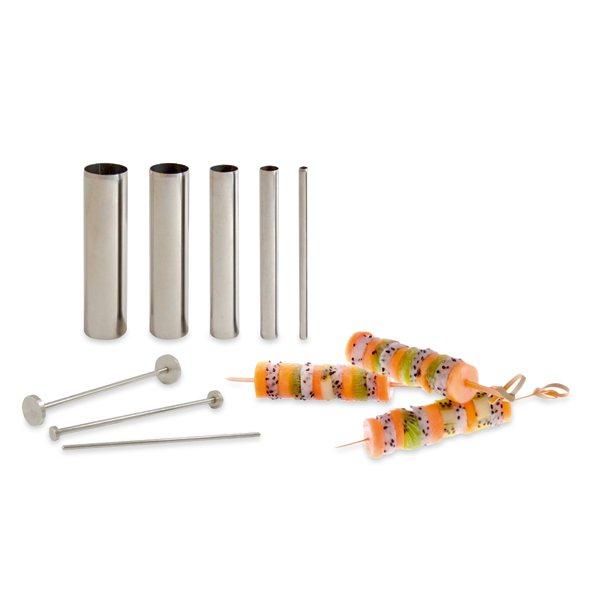 Set design tubes cercles et accessoires de pr sentation for Set ustensiles de cuisine