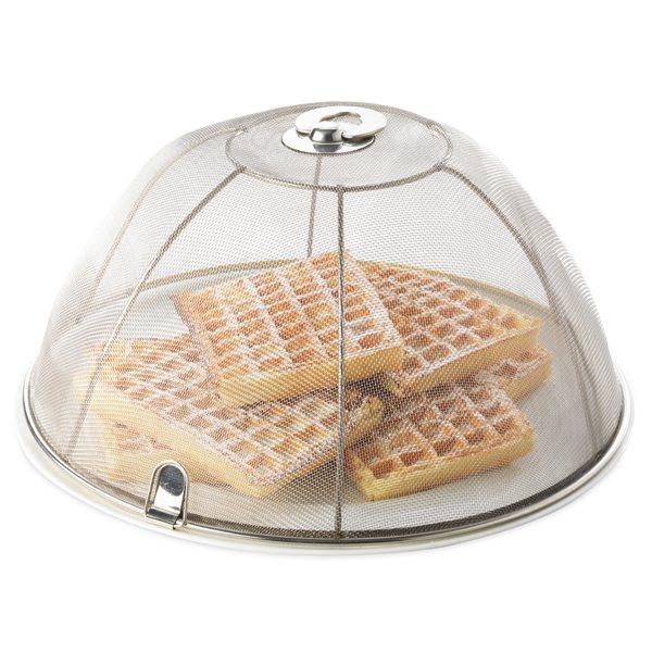 Cloche prot ge plats avec poign e 30 cm bo tes et - Cloche de cuisine ...