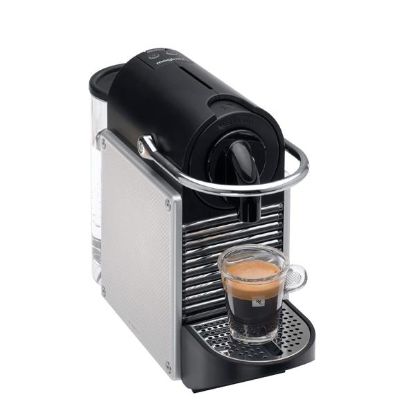 nespresso m110 pixie m tal gris magimix cafeti res lectriques petit lectrom nager. Black Bedroom Furniture Sets. Home Design Ideas