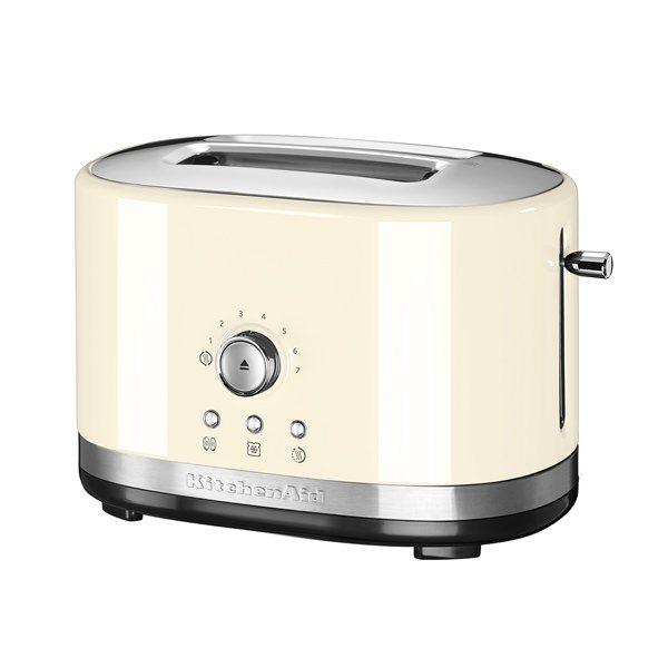 grille pain contr le manuel cr me kitchenaid grille pains toasters et machine pain. Black Bedroom Furniture Sets. Home Design Ideas