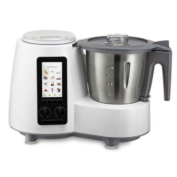 Robot cuiseur multifonctions d limix super cook qc360 for Robot de cuisine cuiseur