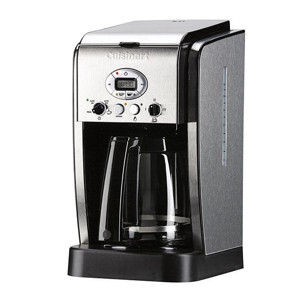 cafeti re filtre programmable pour caf moulu 1 8 l cuisinart cafeti res filtre et piston. Black Bedroom Furniture Sets. Home Design Ideas