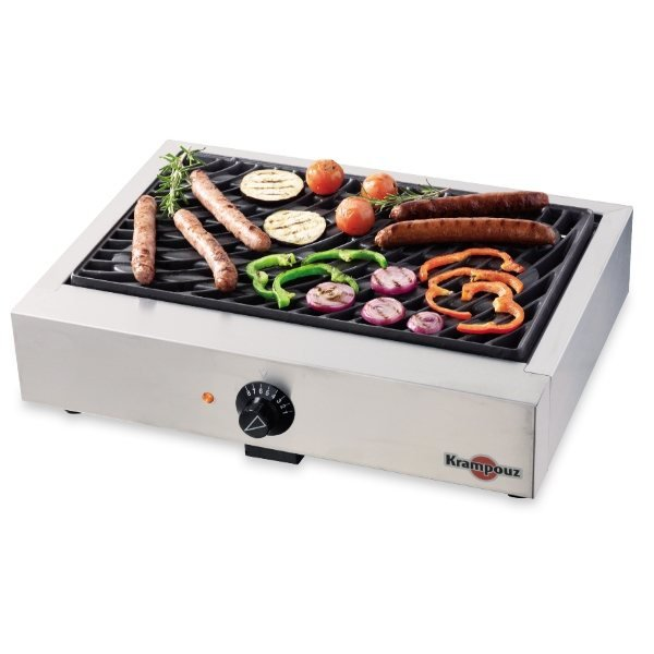 Grill lectrique krampouz grills planchas barbecues - Grill electrique de table ...