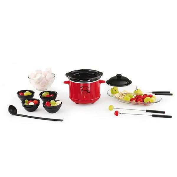 Chocolati re 2 en 1 domoclip domoclip raclettes fondues for Appareil cuisine conviviale