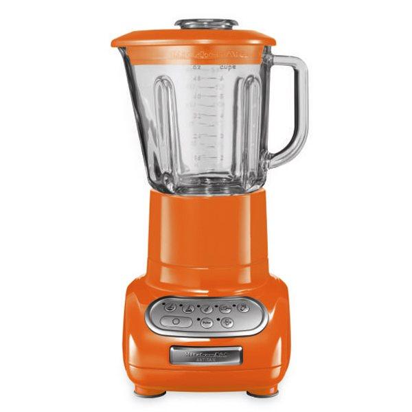 blender artisan avec bol 0 75 l orange kitchenaid blenders centrifugeuses et presse agrumes. Black Bedroom Furniture Sets. Home Design Ideas