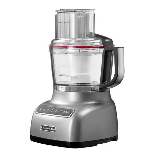 Robot m nager gris argent 2 1 l 240 w kitchenaid robots - Robot de cuisine kitchenaid ...