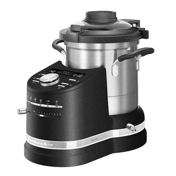 robot cuiseur cook processor artisan noir 500 w kitchenaid robots de cuisine multifonctions. Black Bedroom Furniture Sets. Home Design Ideas