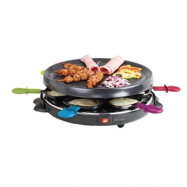 Appareil raclette 6 personnes domoclip raclettes - Appareil raclette 4 personnes ...