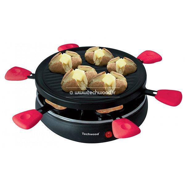 raclette grill 6 personnes raclettes fondues et cuisine conviviale petit lectrom nager. Black Bedroom Furniture Sets. Home Design Ideas