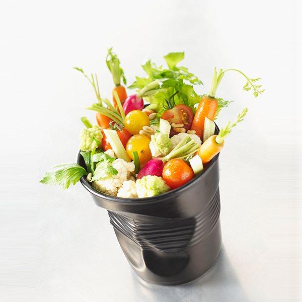 Pot ustensiles 1l froiss s noir revol pots for Pot a ustensiles cuisine