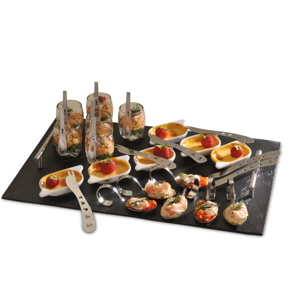 Coffret d gustation luxe 31 pi ces verrines mises en for Art de la table de luxe