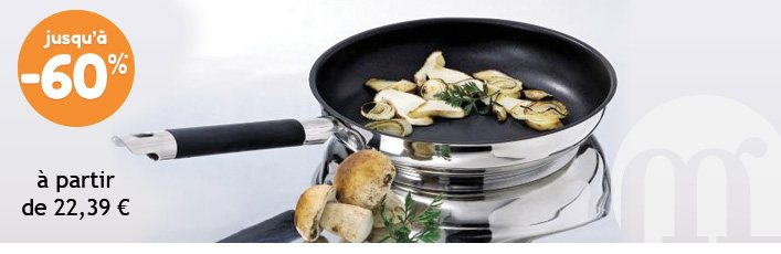 Gamme Mathon Rapid Cook jusqu'à -60%*