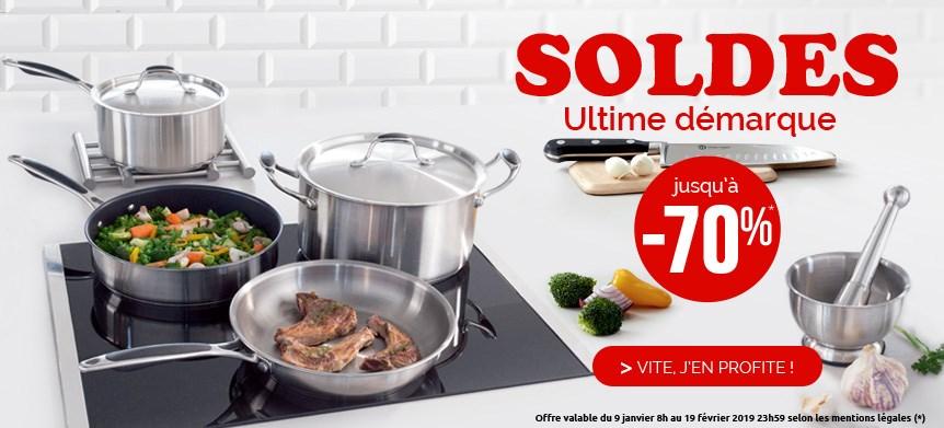 Ustensiles de cuisine et articles de cuisine for Soldes ustensiles cuisine casseroles