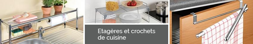 etag res et crochets de cuisine organisation de la cuisine. Black Bedroom Furniture Sets. Home Design Ideas