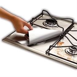Protection plaques de cuisson cr dence organisation de - Credence verre pour plaque gaz ...