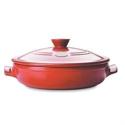 Sauteuse Flame 30 Cm Rouge Emile Henry