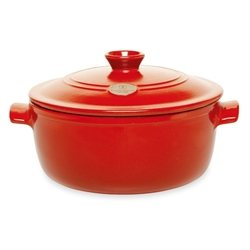 Cocotte Ovale Flame 6 L Rouge Emile Henry