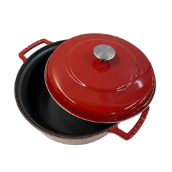 Cocotte Bistrot rouge 20 cm Invicta