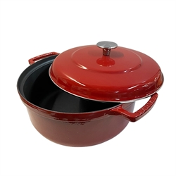 Cocotte Bistrot rouge 24 cm Invicta