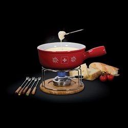 Caquelon et service fondue cuisson - Service a fondue savoyarde ...